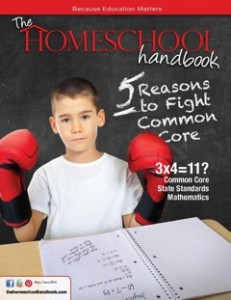 Cover from Common Core 5 Reasons THH May June 2014
