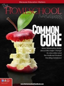 Cover from Common Core THH May June 2013
